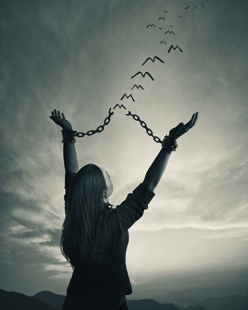 Forgiveness releases the chains to your past